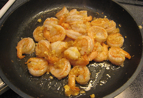 Garlic Shrimp (like Shrimp Scampi) for Lazies
